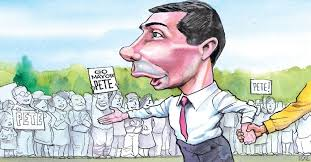 Image result for pete buttigieg caricature